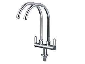 Picture of Double Pillar Sink Tap