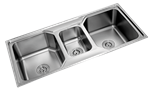 Picture of Double 2.5 Sink